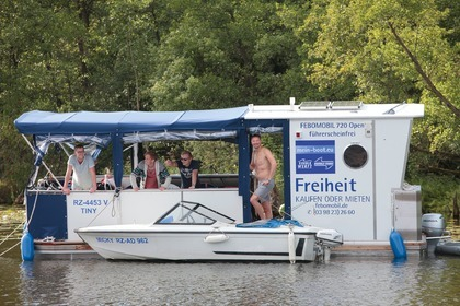 Hire Houseboat Febomobil 720 Open Rechlin