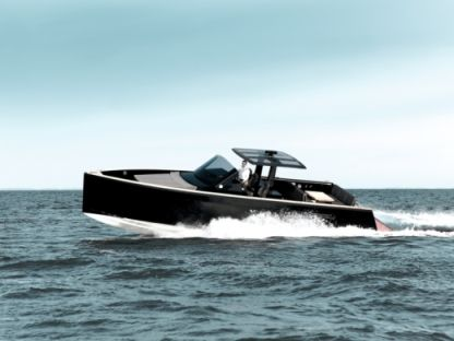Charter Motorboat Fjord 40 Open Ibiza
