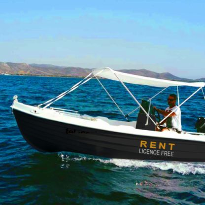 Charter Motorboat L. Ammos 450 Paros