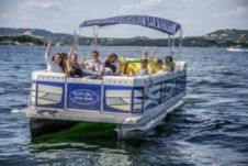Charter Pontoon 26 In Lake Travis Click Boat