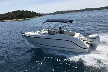 Rental Motorboat QUICKSILVER 595 Crusier Tisno