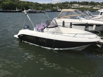Miete Motorboot Yamaha Pacific Craft Paris