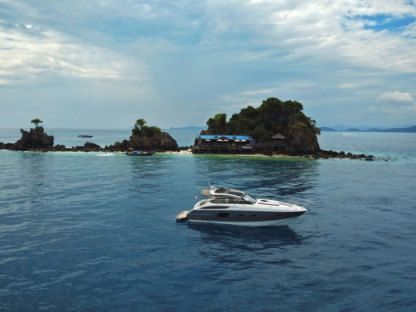 Rental Motorboat Princess V39 Phuket