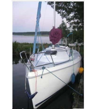 Rental Sailboat Sasanka Viva 600 Gizycko