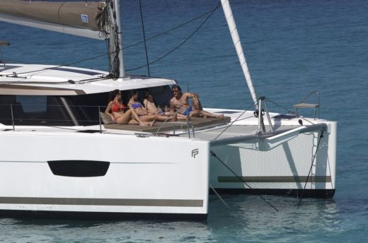 Fountaine Pajot Lucia 40 a Salerno