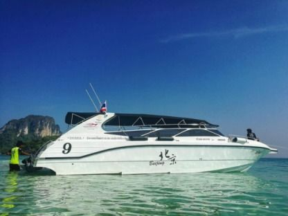 Charter Motorboat Thai Marine Co. Ltd Fiberglass Speed Boat Krabi Noi