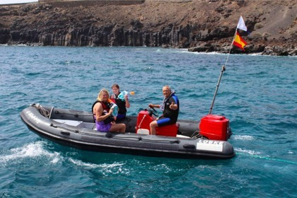 Location Semi-rigide Zodiac 625 Lanzarote