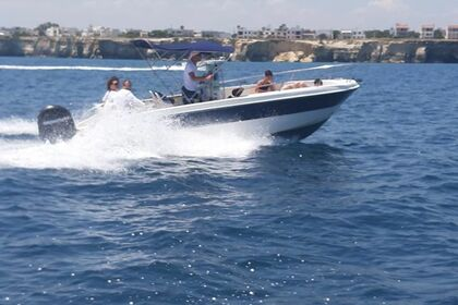 Rental Motorboat Brava 22 Open San Foca