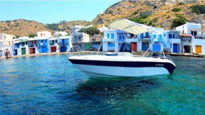 Rental Motorboat Poseidon Blue Water 170 Milos