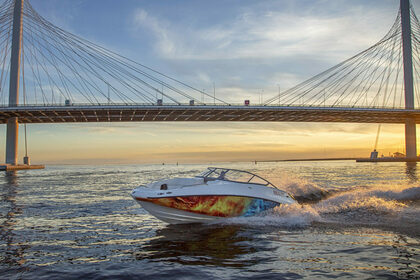 Hire Motorboat Challenger 230SE Saint Petersburg