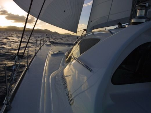 Voyage Yachts 580 in British Virgin Islands