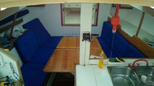 Sailboat Meta JP Brouns Trisfer 40 for hire