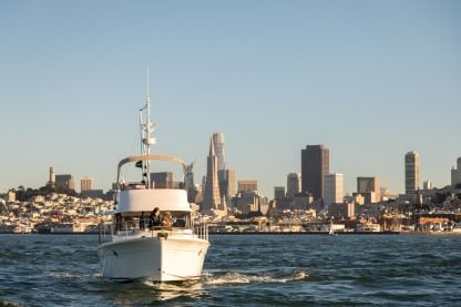Rental Motorboat Beneteau Swift Trawler 34 San Francisco