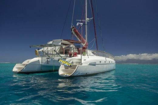 Fountaine Pajot Bahia 46 in Pape'ete for hire