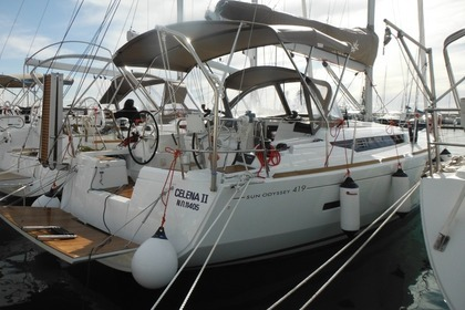 Location Voilier JEANNEAU SUN ODYSSEY 419 Parikiá
