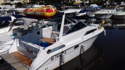 Miete Motorboot Sea Ray 230 Sundancer Cannes