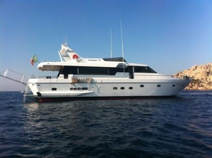 Charter Motorboat Cantiere Canados 75S Fiumicino