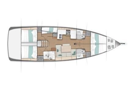 Hire Sailboat JEANNEAU SUN ODYSSEY 490 Portisco