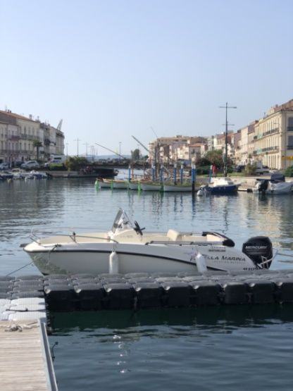 Rental Motorboat Quicksilver Active 505 Open Sète