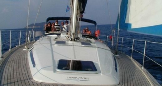 Charter sailboat in Alghero SS peer-to-peer