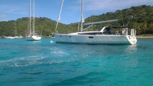 Sailboat Beneteau Sense 50 peer-to-peer