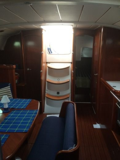 Sailboat Beneteau Oceanis 411 peer-to-peer