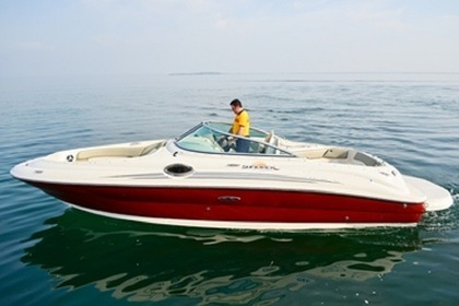 Miete Motorboot SEA RAY 240 Sun Deck Moniga del Garda