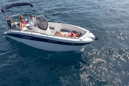 Hire Motorboat salmeri Calipso 21 Rab
