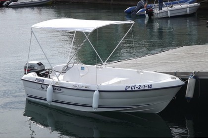 Miete Motorboot QUICKSILVER 410 FISH Águilas