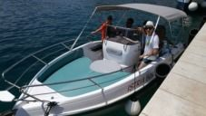 Bluline Bluline 21 Open in Rabac for hire