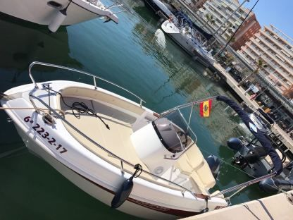 Rental Motorboat Marinello Fisherman 16 Santa Pola