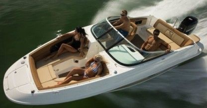 Charter Motorboat Sea Ray Sundancer Miami Beach