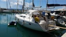 Rental sailboat in Makarska