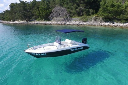 Rental Motorboat FISHER 17 Mali Losinj