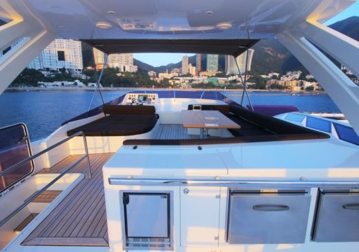 Motorboat Numarine Numarine 78 Flybridge for hire