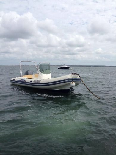 RIB Capelli Tempest 690 for hire
