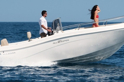 Verhuur Motorboot Allegra ALL 21 Taormina