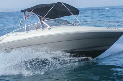 Motorboat Cranchi 21 for hire