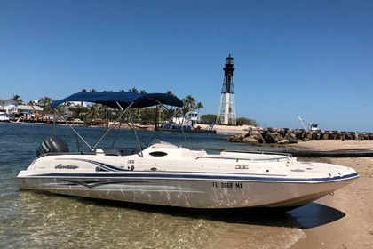 Charter Motorboat Hurricane Deck Boat Pompano Beach