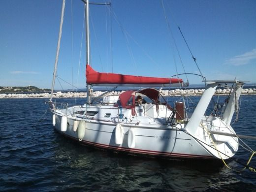 Charter sailboat in Ajaccio peer-to-peer