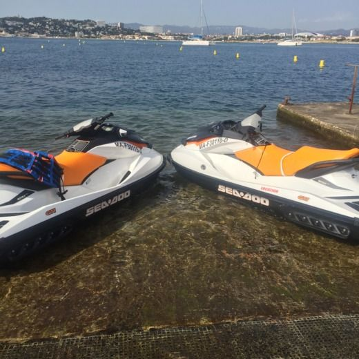 Rotax Seadoo in Marseille for hire