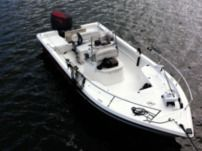Motorboat Sea Pro 24 Bay Red
