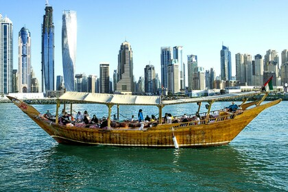 Rental Motorboat Dhow 45 people Dubai
