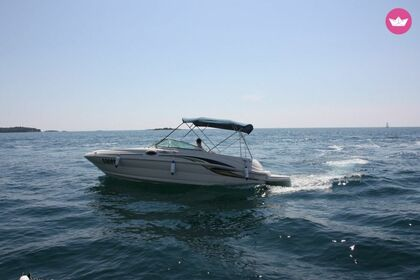 Rental Motorboat Sea Ray 240 Poreč