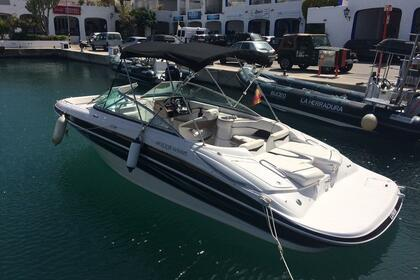 Rental Motorboat FOUR WINNS HORIZON 240 La Herradura