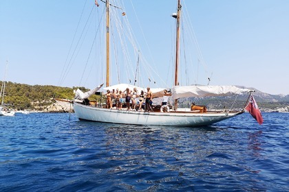 Verhuur Zeilboot White Bros. Fred Shepherd Gaff Ketch Port d'Andratx