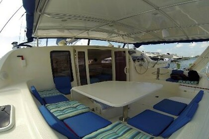 Rental Catamaran Leopard 42 Cancún