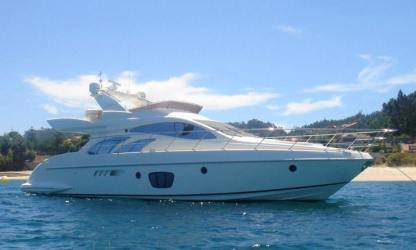 Charter Motorboat Azimut 55 San Diego