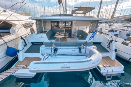 Hire Catamaran Fountaine Pajot Lucia 40 Athens