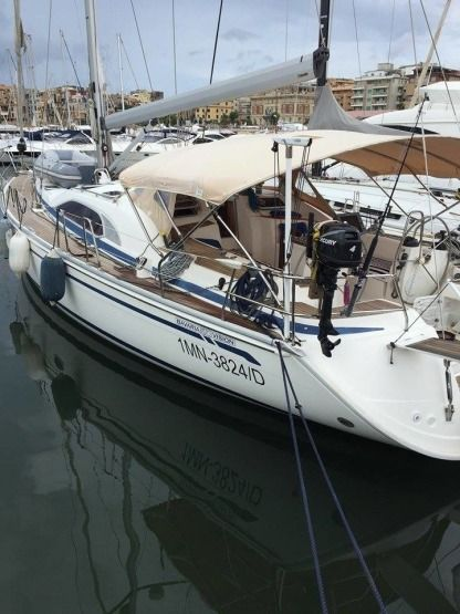 Charter Sailboat Bavaria 50 Vision Deck House Nettuno
